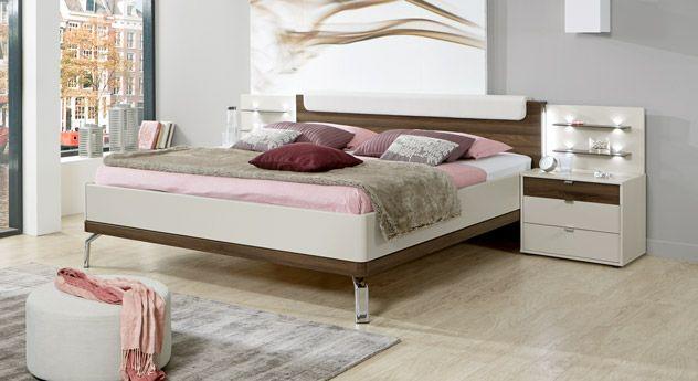 Bett \ - Schlafzimmer Landhausstil Weiß