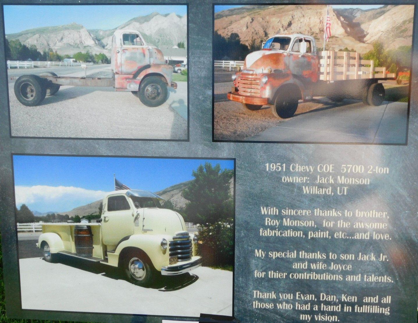 1951 Chevy Beast Yell4 1950s 2x4s Pinterest 2 Ton Truck
