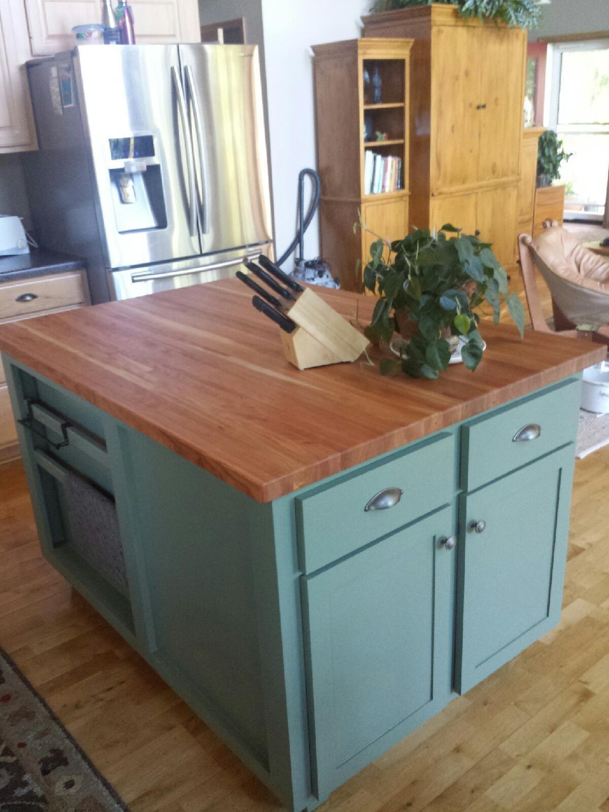 New Kitchen islands butcher Block