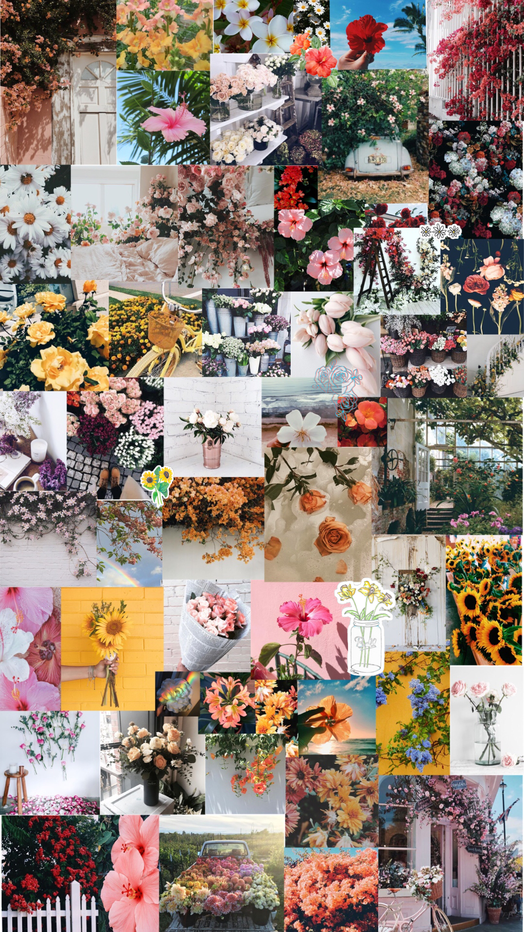 flowers aesthetic background A E S T H E T I C in 2018