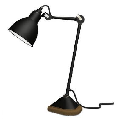 Lampe Gras 206 noir