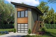 Modern Style House Plan 1 Beds 1 Baths 672 Sq Ft Plan 48 934