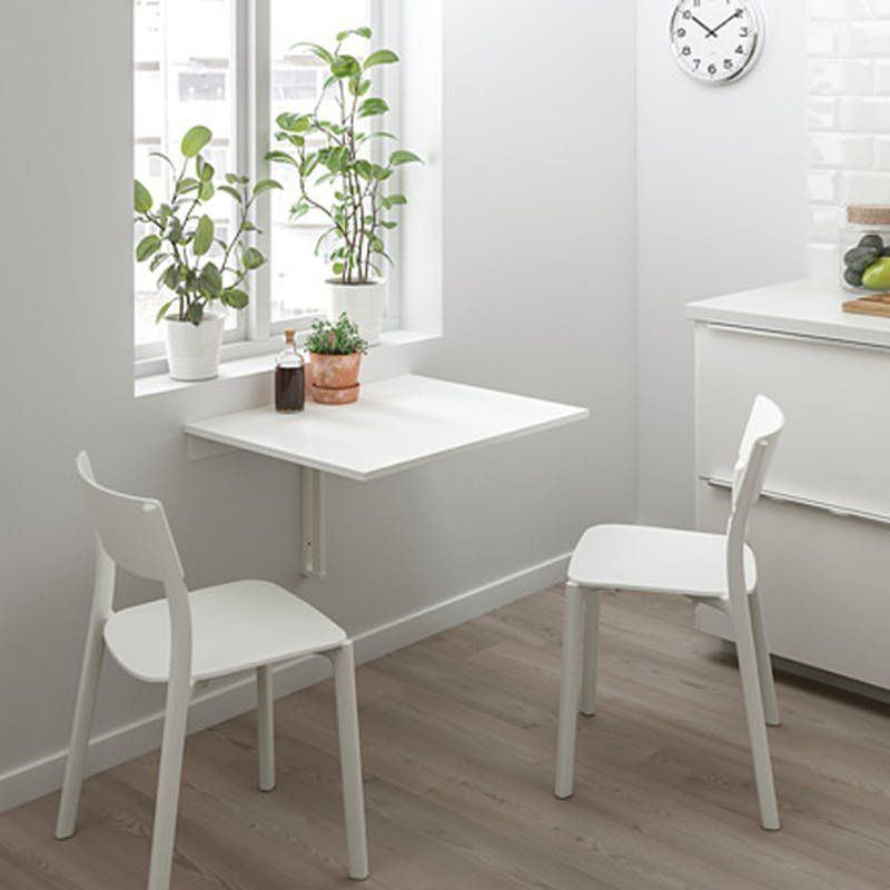 Wall Mounted Furniture Is The Stylish Space Saver You Need In Your Life Drop Leaf Table Leaf Table Wall Table