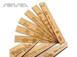 Wooden ECO Ruler (30cm)