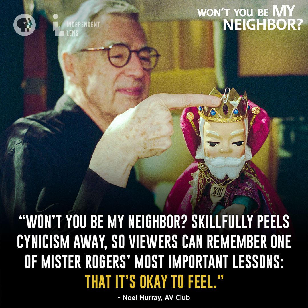 Take An Intimate Look At America S Favorite Neighbor Fred Rogers In One Of The Most Celebrated Theatrical Releases Mr Rogers Fred Rogers Western New England