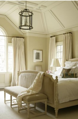 French bedroom, French furniture, cream bedroom