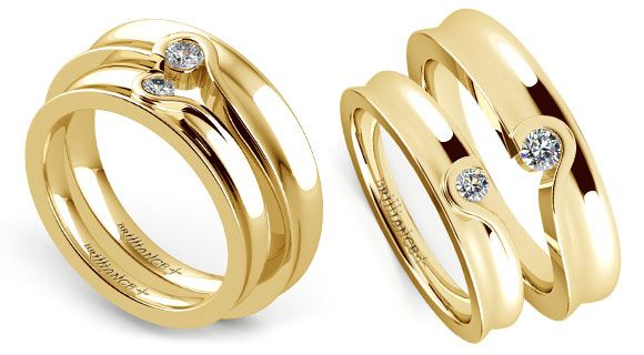 Nice The Yellow Gold Wedding Ring Sets Way To Buy It Wedding