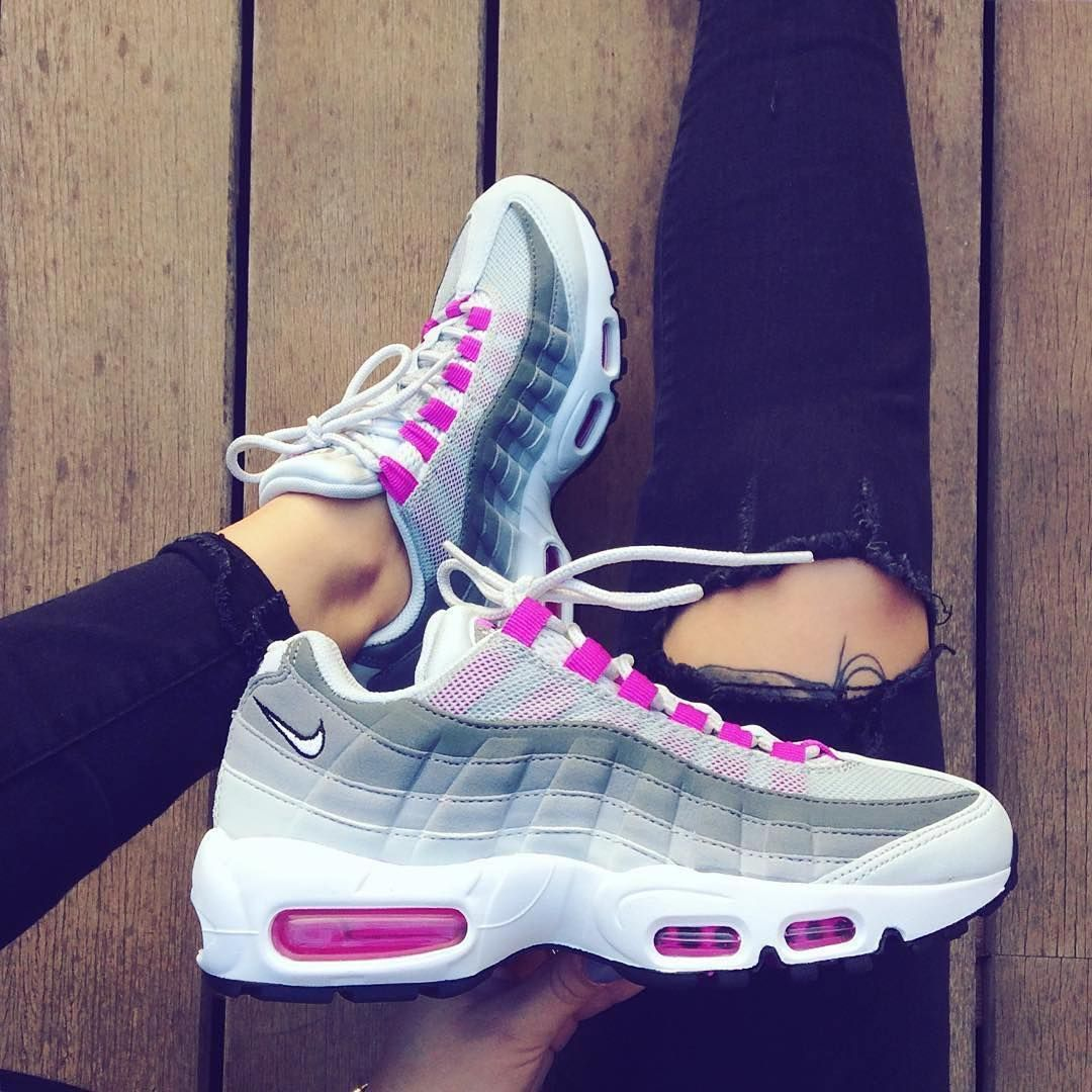 air max 95 fille rose