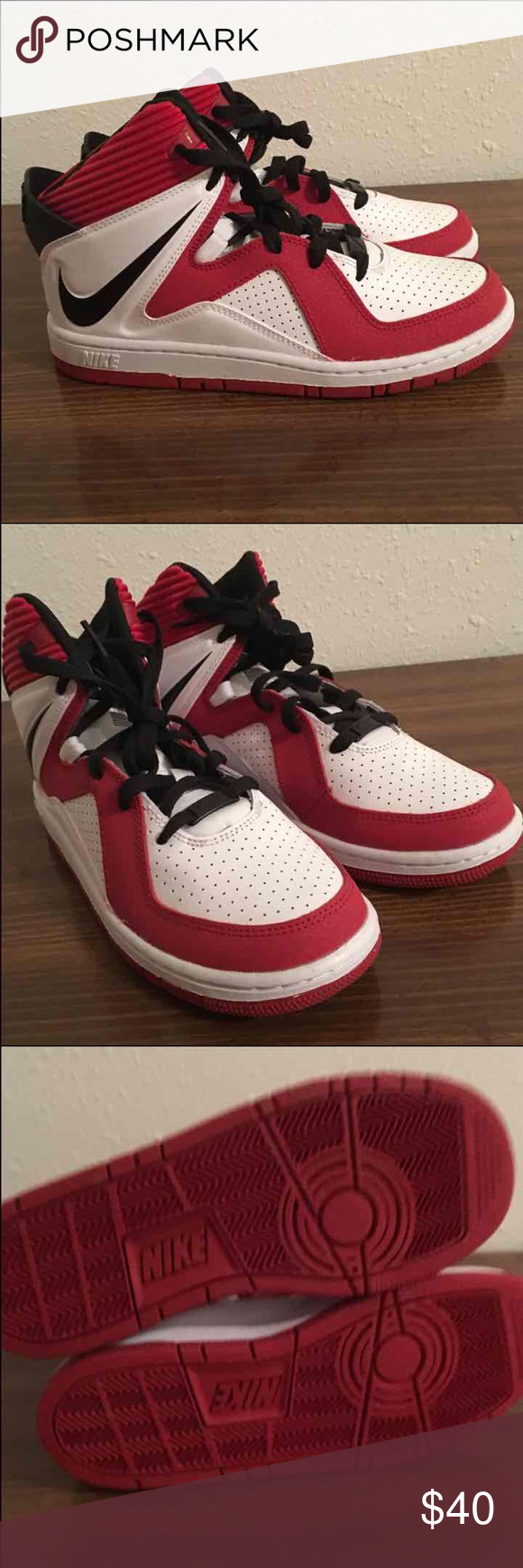 Nike Court Invader (GS) Basketball Shoes Brand new Nike Court Invader basketball shoes size 5.5Y Nike Shoes Sneakers
