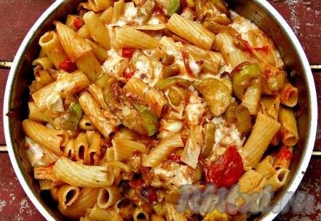 Паста с кабачками   Рецепт   Идеи для блюд, Еда и ...