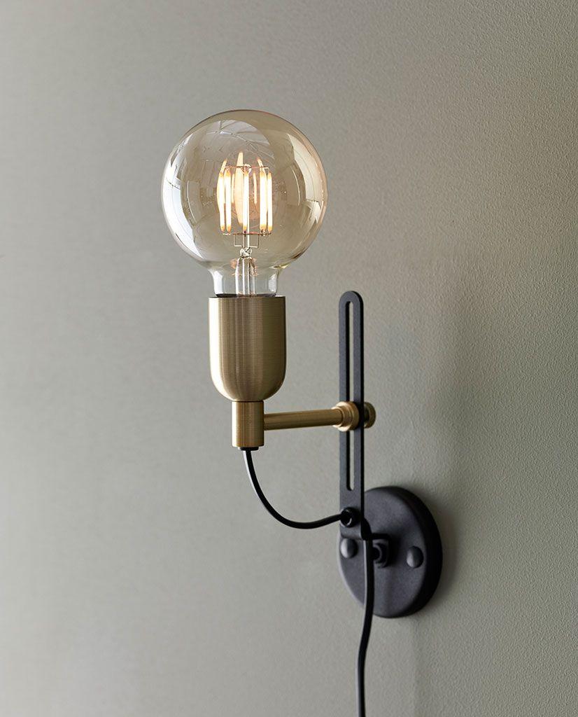 Strålende Vgglampa Mssing. Awesome Vegglampe With Vgglampa Mssing. Moon SF-03
