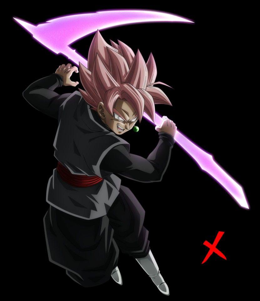Black Gokus Scythe Dragon Ball Z Dragon Ball Gt Anime Life