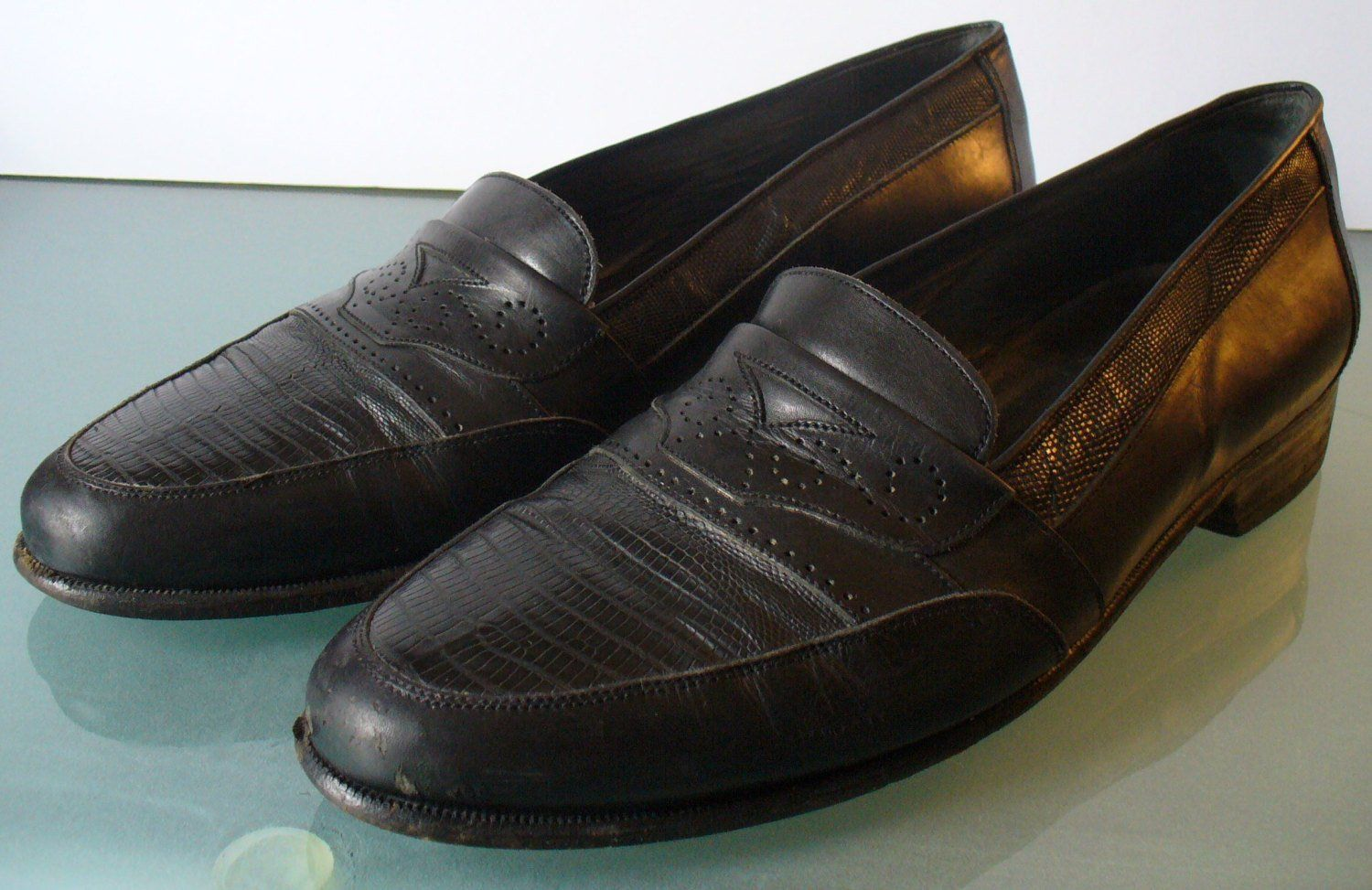 b8534297db3ac Vintage Bally Made in Italy Private Collection Loafers Size 9M by ...