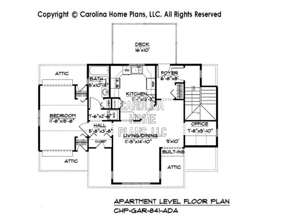 Luxury One Story Garage Apartment Floor Plans