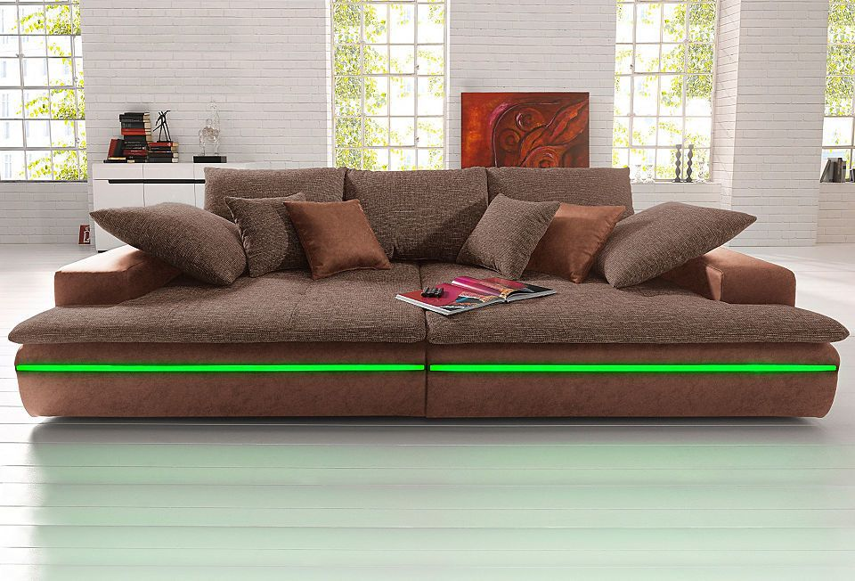 Big-Sofa, wahlweise in 2 Größen Jetzt bestellen unter   - big sofa oder wohnlandschaft