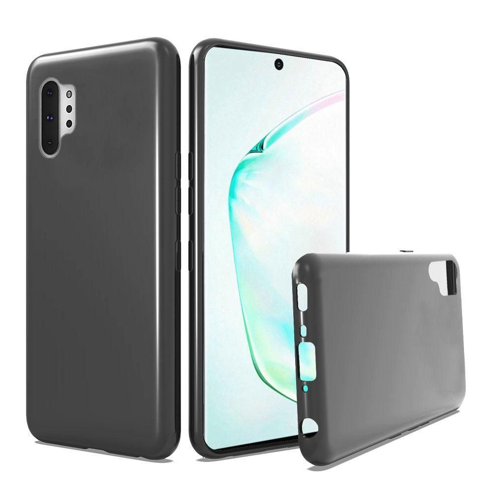 Solid TPU Case, Black for Samsung Galaxy Note 10 Plus