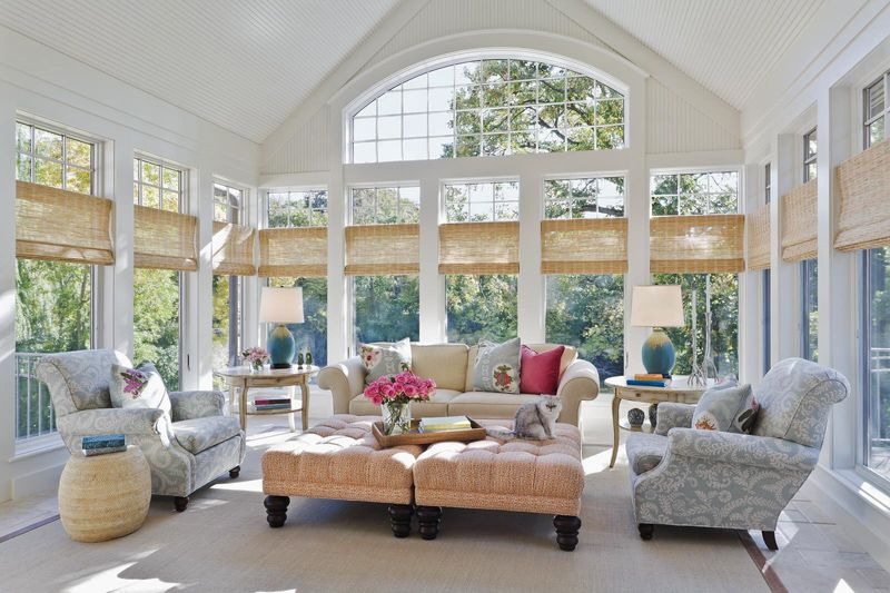 Lovely Sunroom Decorating Ideas