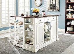 Pemberton 3 pc Counter Height Kitchen Set