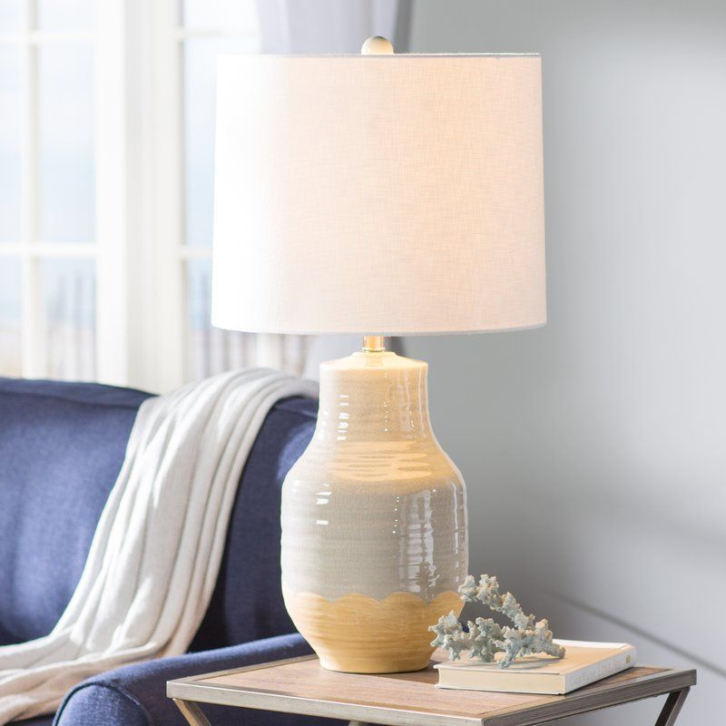 Jamesport 30 Table Lamp Lamp Table Lamp Beige Table Lamps