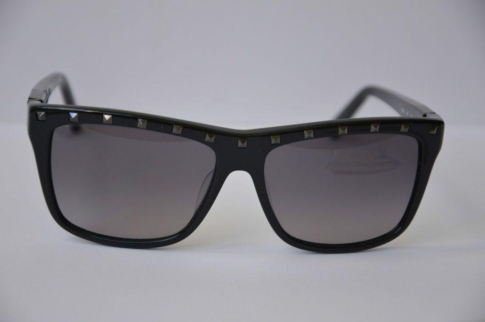 Valentino Rockstud Black Sunglasses V606S