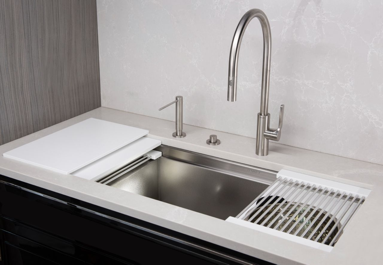 Iws 3s Drydock 12 In Designer White Resin Kitchen Sink Design Minimal Kitchen Design Elegant Kitchen Design