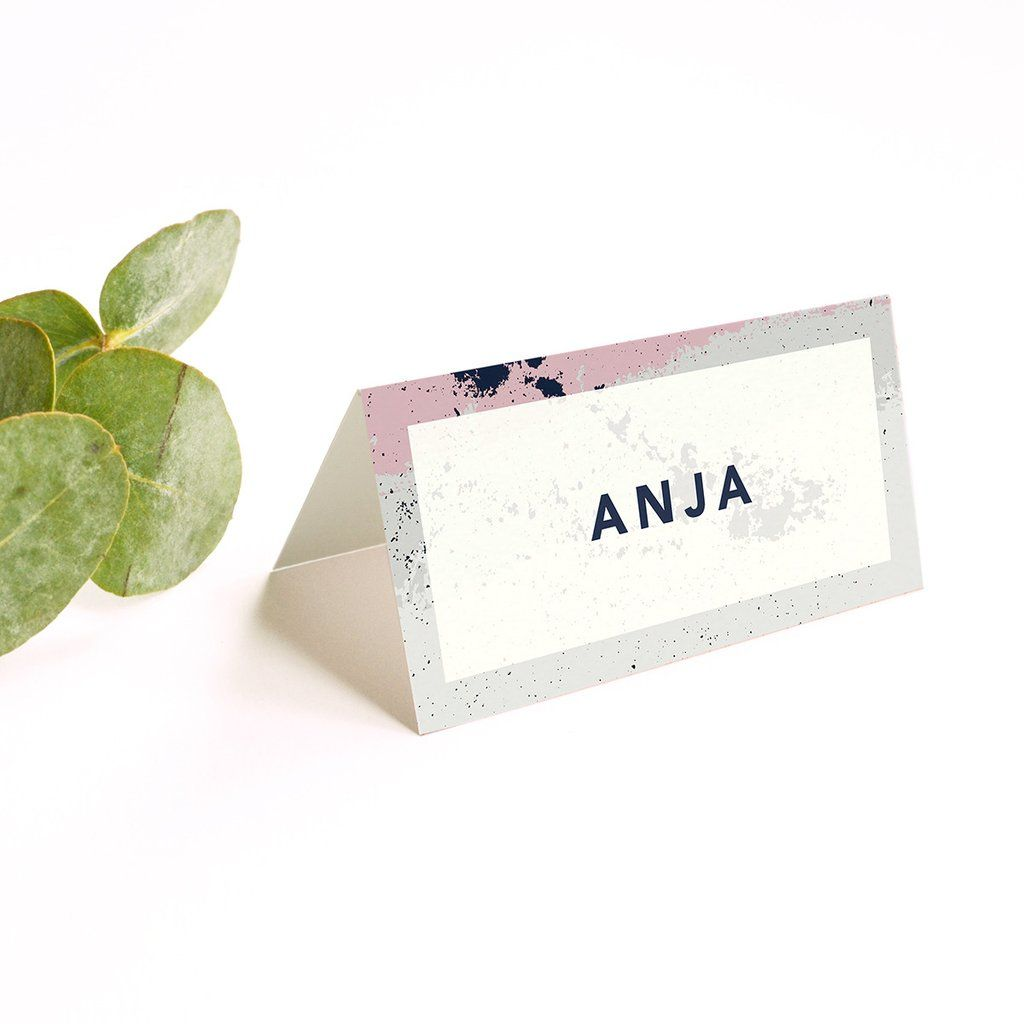 Personalised Wedding Place Cards Scandi Place Card Place Cards