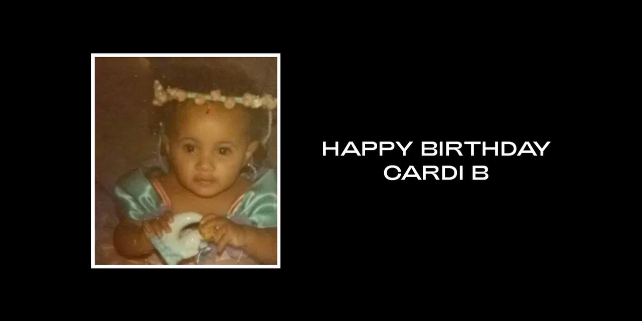 Beyonce Happy Birthday Cardi B Happy Birthday Cardi B Birthday