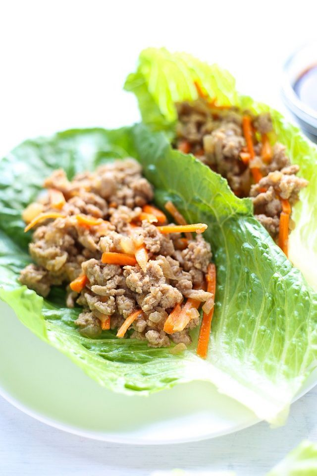 asian lettuce wraps with ground turkey 3 scoops of sugar
