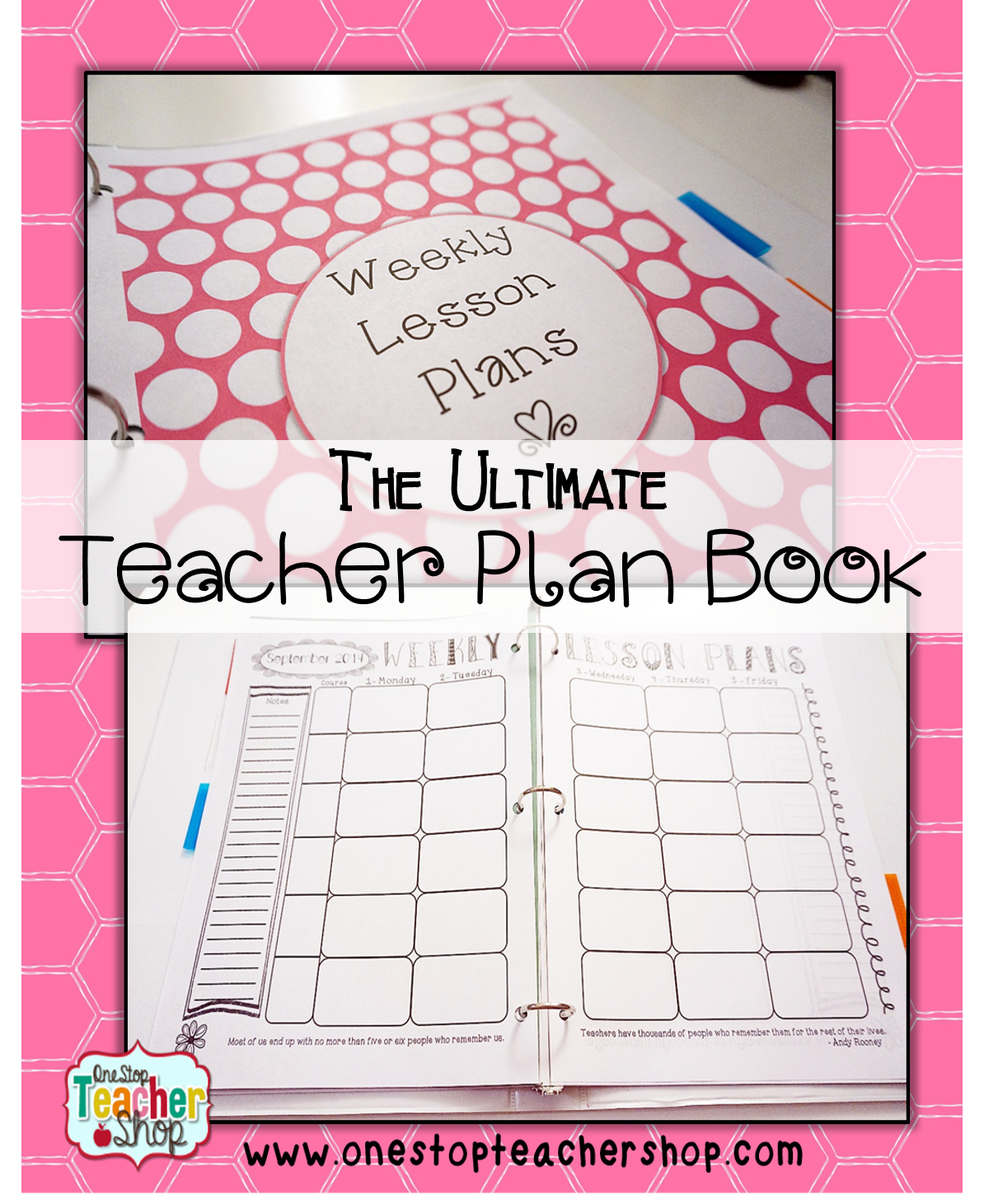 Ultimate Classroom Design ~ Put together the perfect teacher binder for better