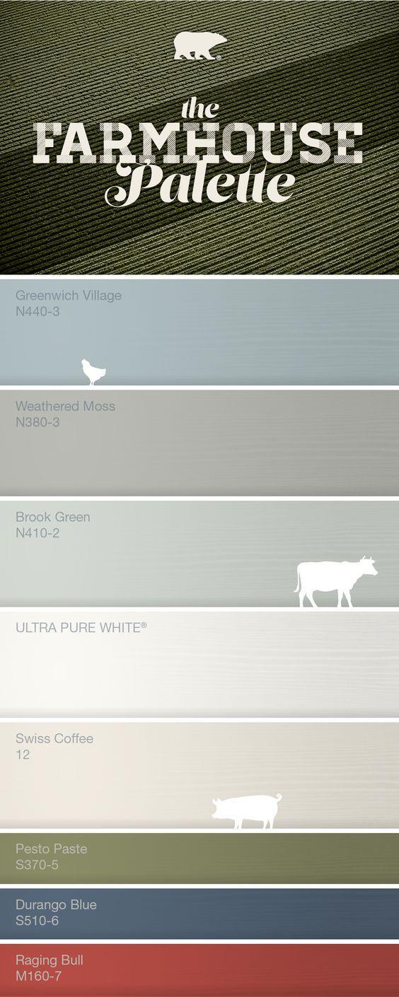 New Basement Color Palette