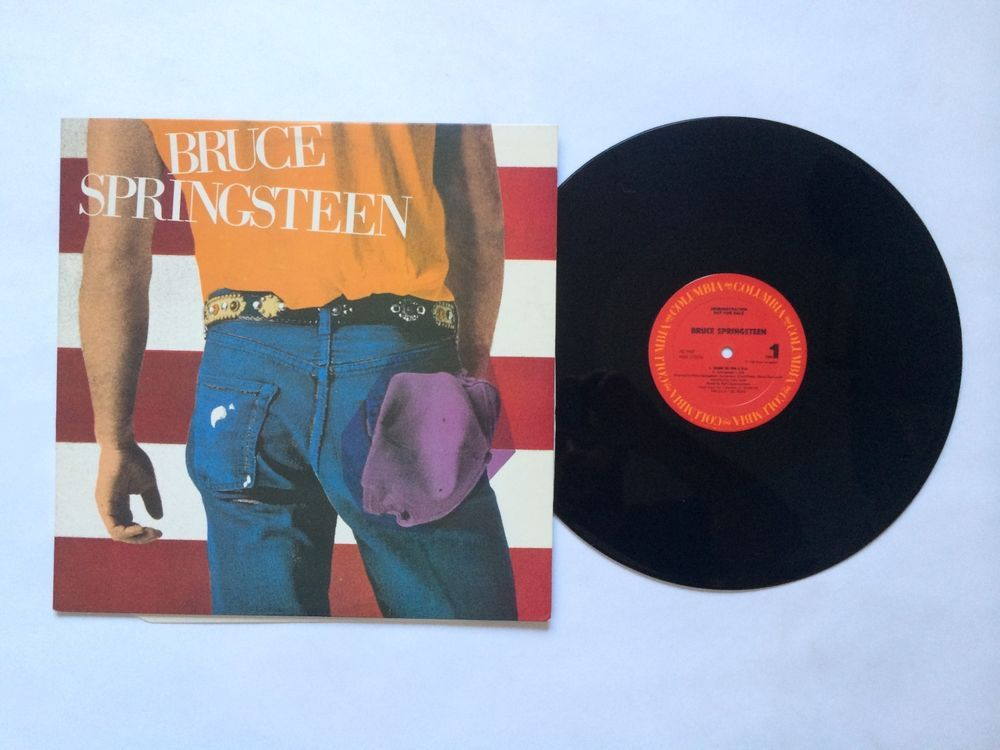 Bruce Springsteen Born In The Usa Ep Demonstration Vinyl Record Lp As 1957 Singersongwriter Classic Rock Albums Vinyl Records Singer Songwriter