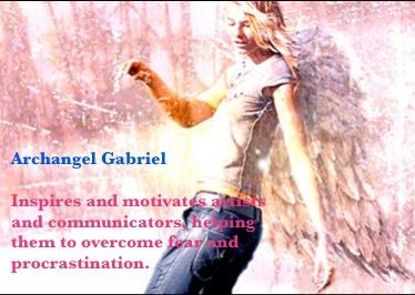 Archangel Gabriel helps with: Adopting a child Artists and art-related projects Child conception and fertility Journalism and writing Television and radio work