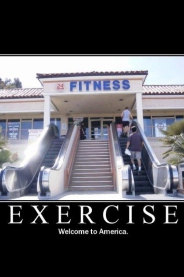 Image result for escalator to gym
