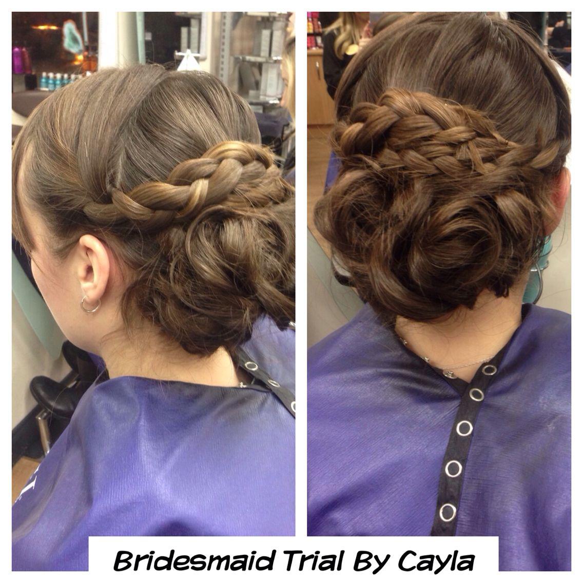 Trial by cayla arcana wedding hair pinterest weddings