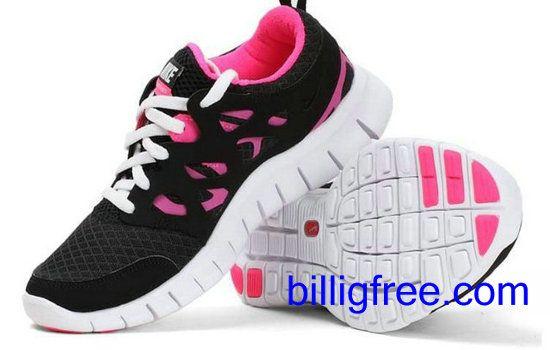 Verkaufen billig damen Nike Free Run 2 Schuhe (Farbe:vamp-schwarz, rot,innen-rot, Logo, Sohle-weiB) Online in Deutschland.
