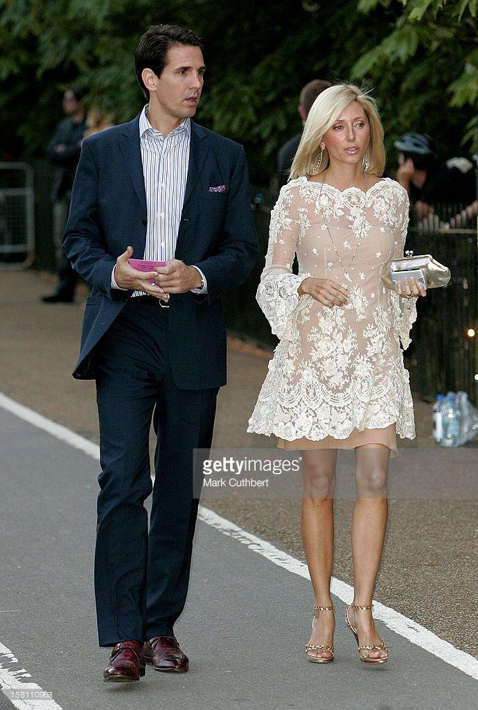 2c5badd05 Crown Prince Pavlos & Crown Princess Marie-Chantal Of Greece Attend ...