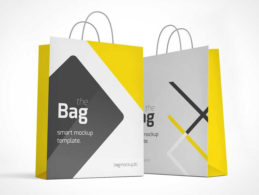 Download Free Photo Realistic Shopping Bag Mockup Bag Mockup Mockup Free Psd Business Template