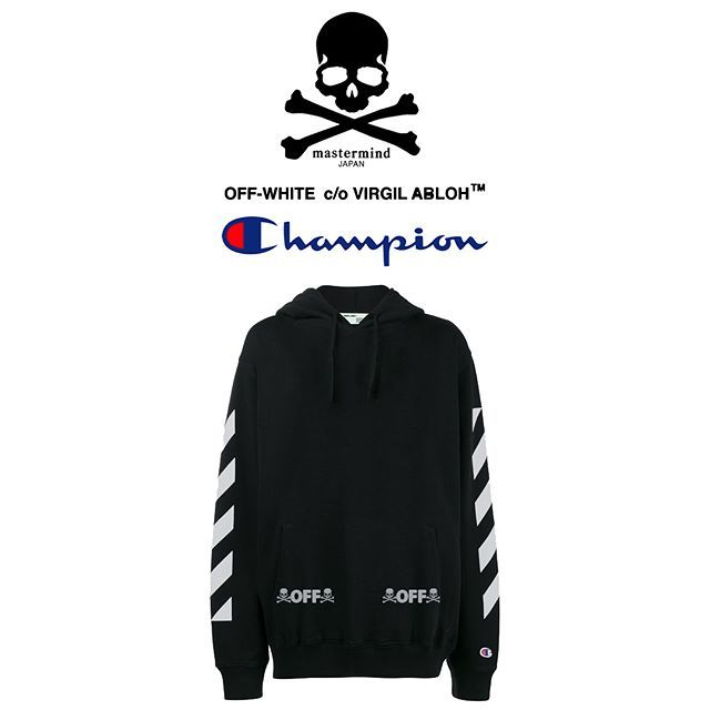 Possibly Off White X Mastermind X Champion Collab On The Way Adidas Jacket Mastermind Japan Athletic Jacket