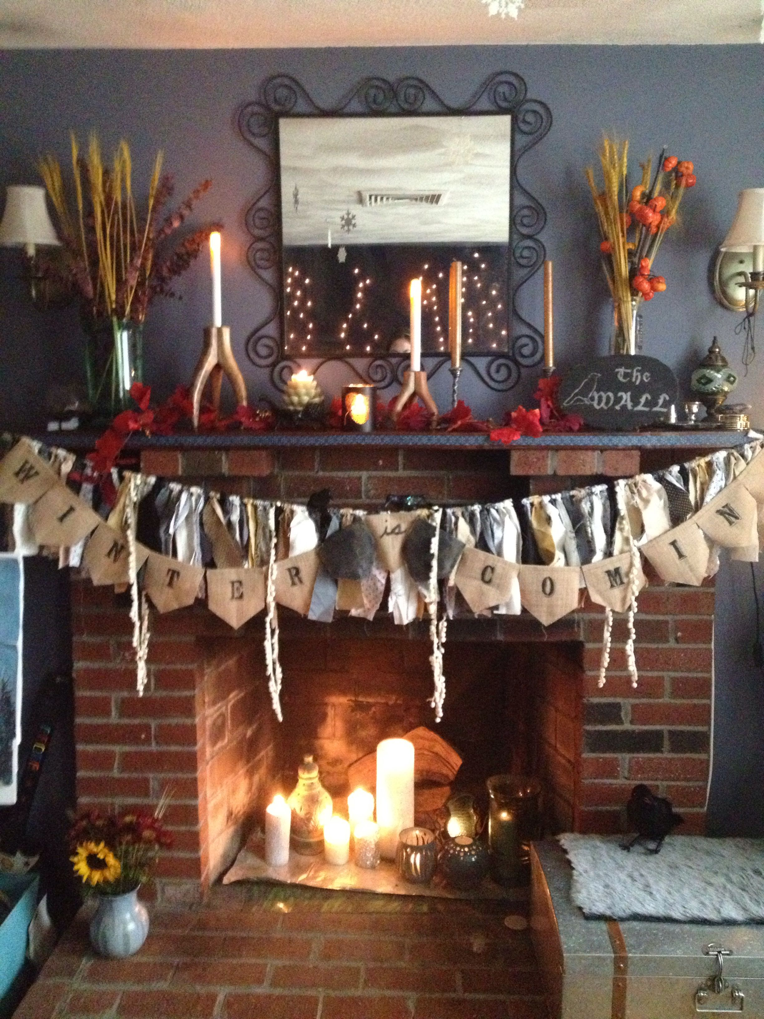 Game Of Thrones Party Decor Winter Is Coming The Wall Trending Decor Home Decor Ikea Bedroom Decor
