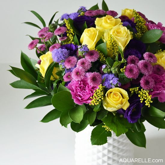 Superbe Bouquet De Fleurs Baroque Par Aquarelle Com Flower
