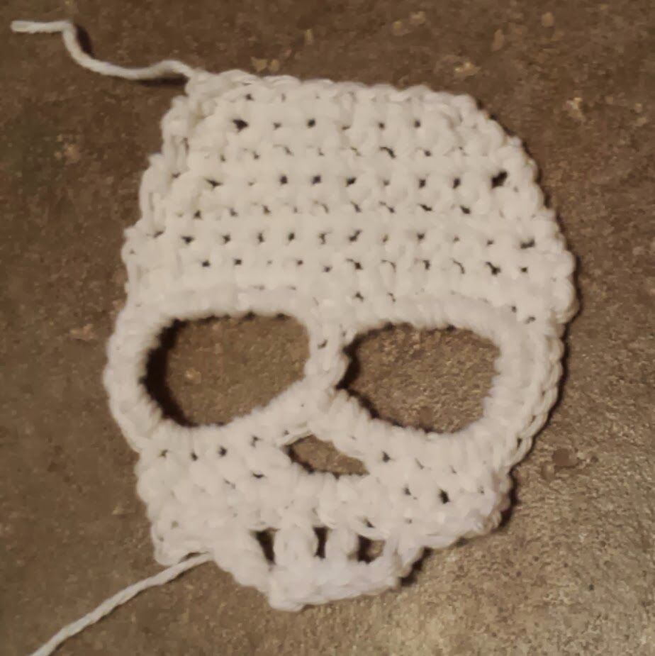 One Craft Short of Crazy: Skull Scarf | Products I Love | Pinterest