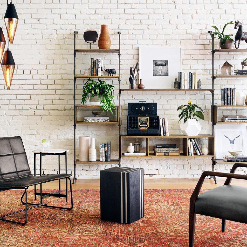 Luxury Living Room Wall Storage