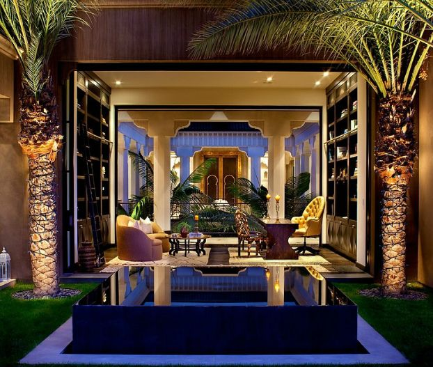 Spectacural moroccan style house in l a moroccan luxury for Moroccan style home accessories