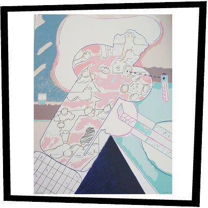 Luis Gordillo lithograph.  www.nitelshop.com