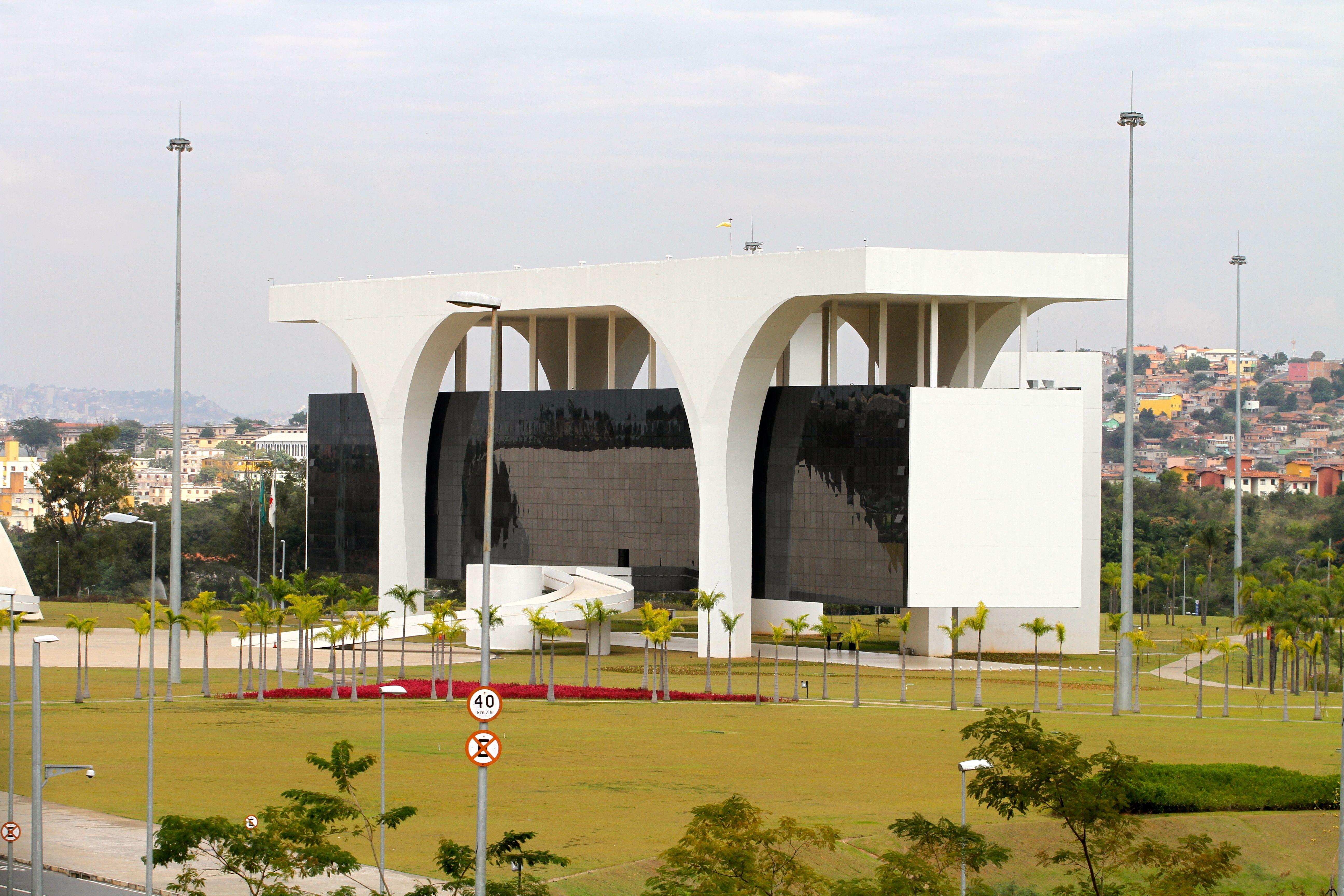 Palacio Tiradentes Derniere Oeuvre D Oscar Niemeyer De Son Vivant
