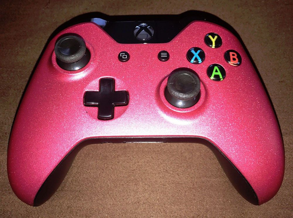Details about pink sparkle genuine microsoft xbox one