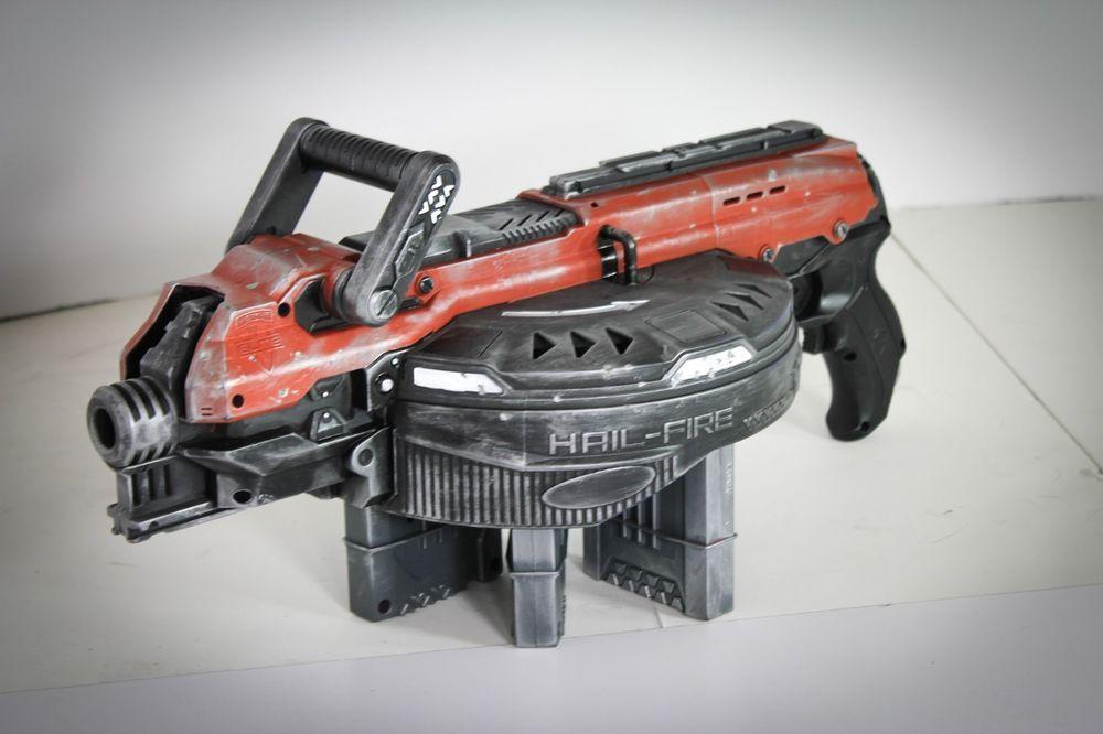 Custom Nerf Hailfire - Destiny, Borderlands, Gears of War Inspired Cosplay  Gun