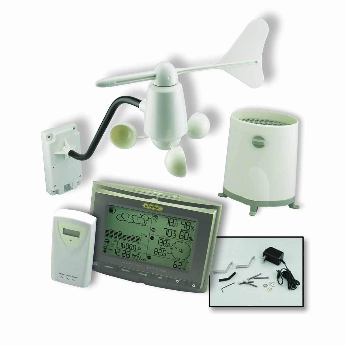 ambient weather ws-2080 wireless home weather station