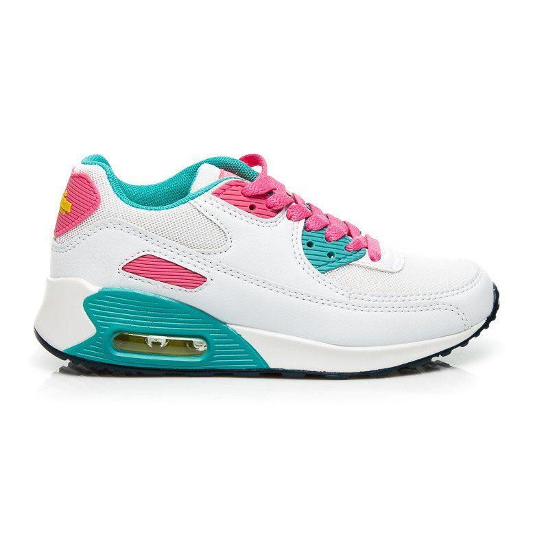 fff17880 #Buty sportowe dziecięce #Dla dzieci #AmericanClub #American #Club #Białe #