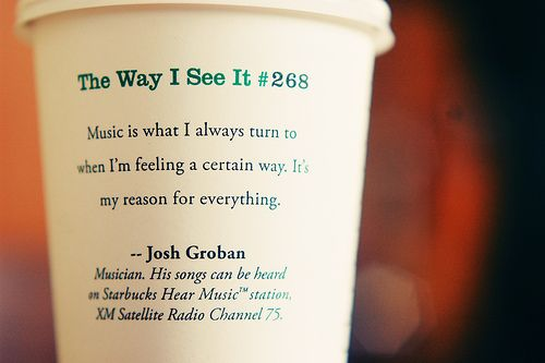 Pin on Starbucks cup quotes